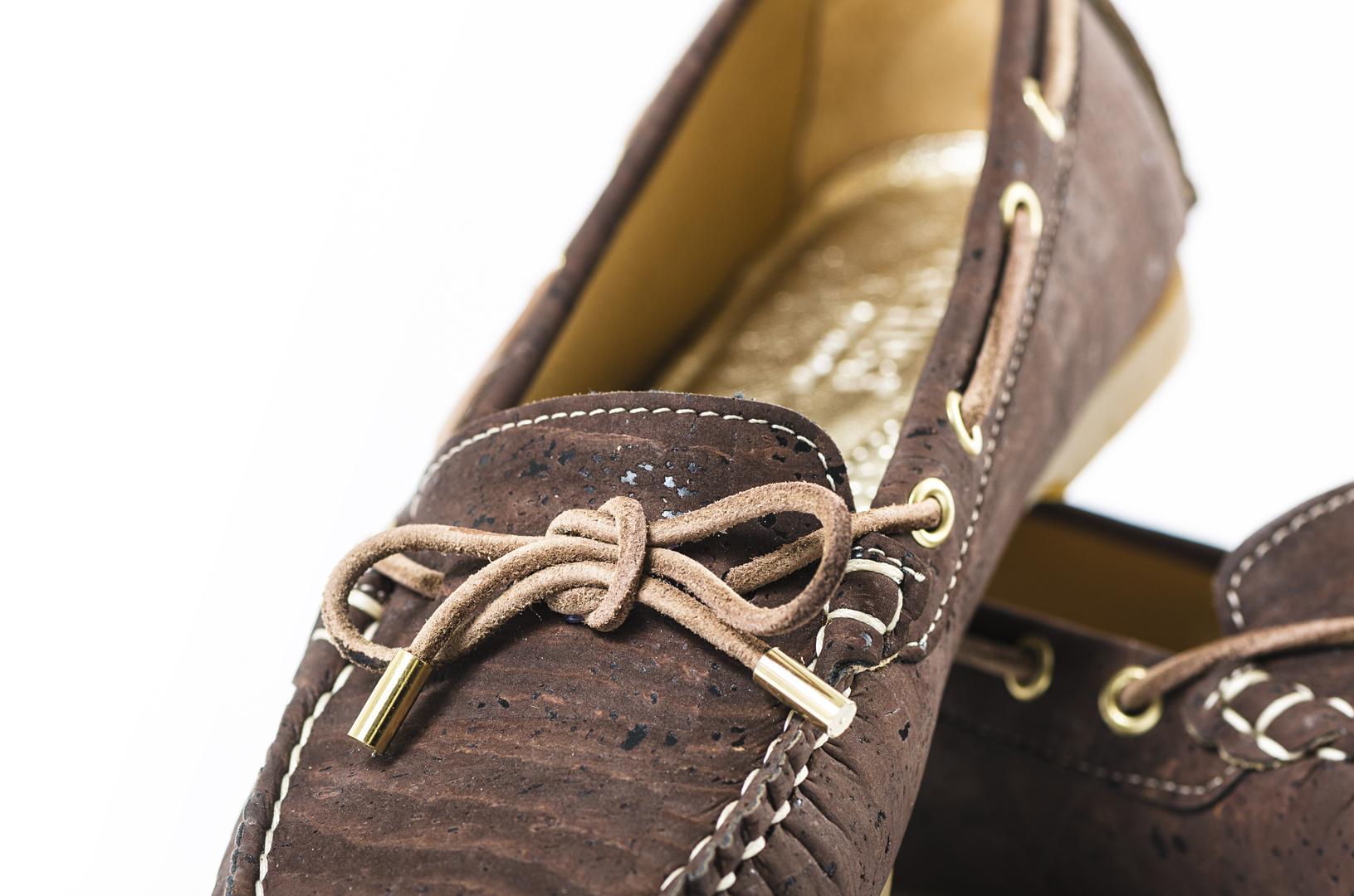 Schuhe, Kork, Korkschuhe, Espadrillas, Indiana Laced, Brown, editorial