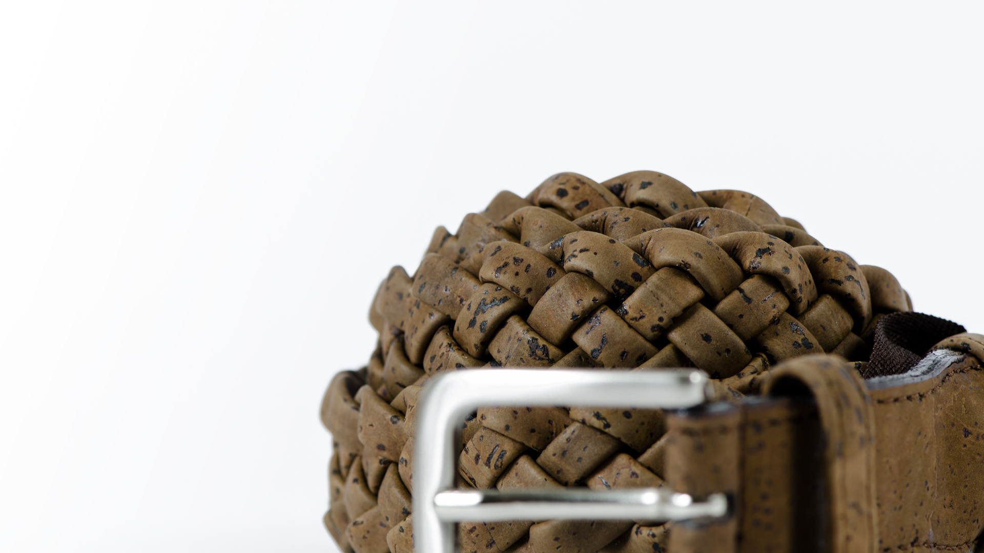 Korkgürtel, Kork Gürtel Brady 30mm, Brown, editorial