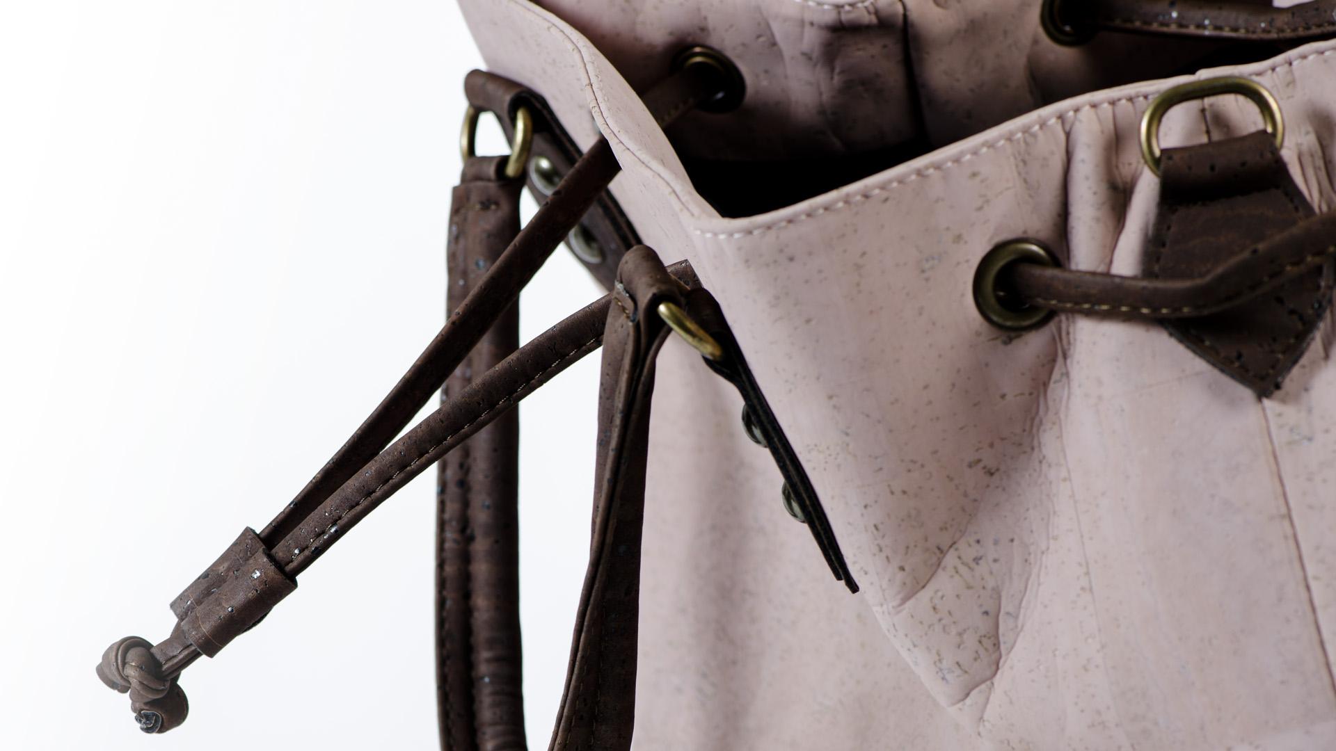 Korktasche, Kork Tasche Lacer, Dusty Pink \ Brown, editorial