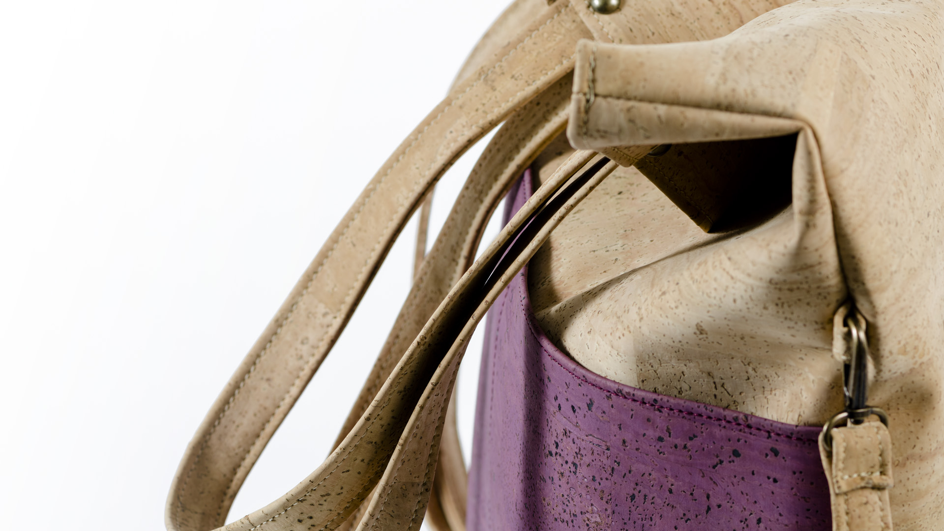 Korktasche, Kork Tasche Shopper, Nature Cork \ Dusty Pink, editorial