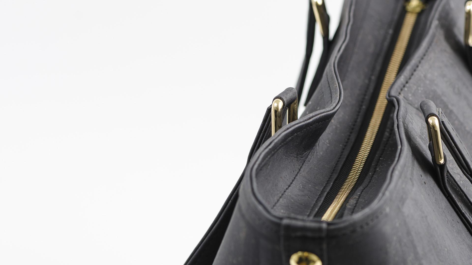 Korktasche, Kork Tasche Gallant, Black, editorial