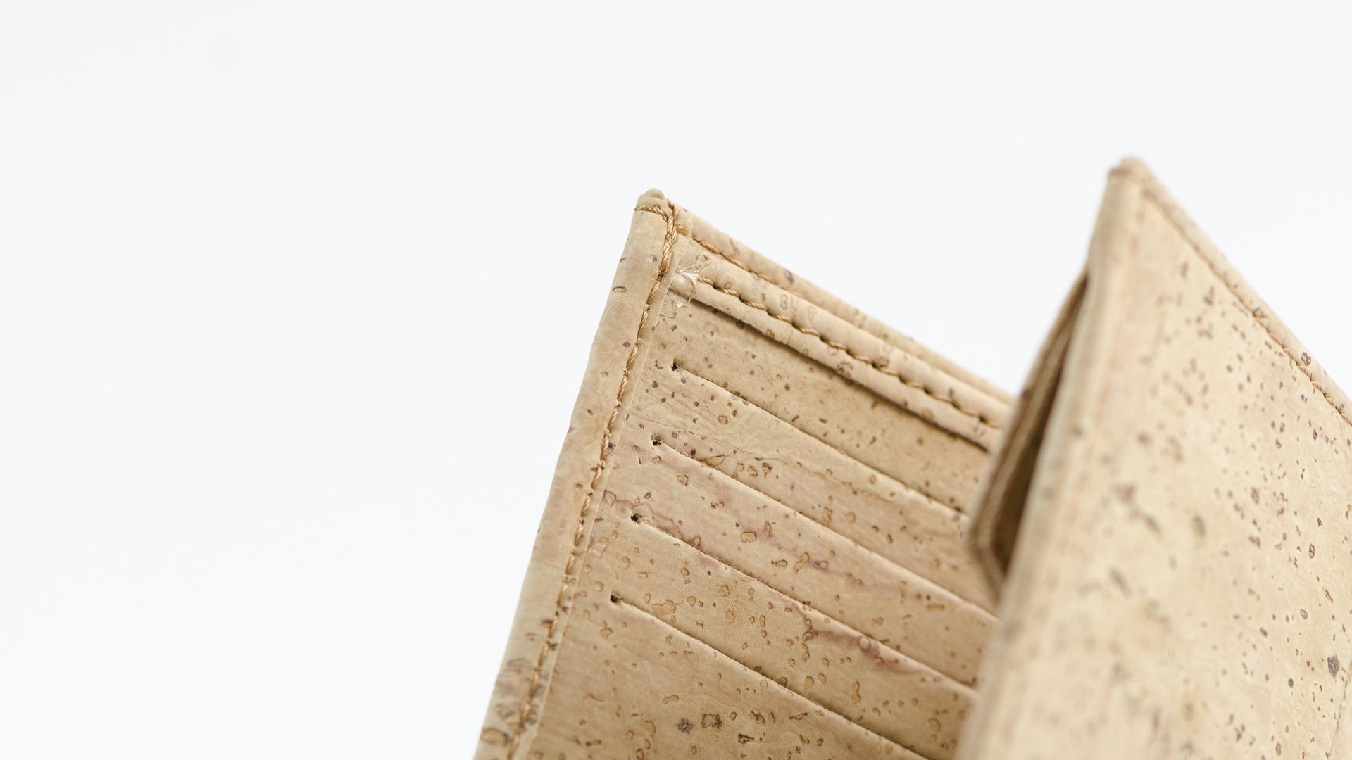Korkportemonnaie, Kork Portemonnaie Men's Wallet M, Nature Cork, editorial