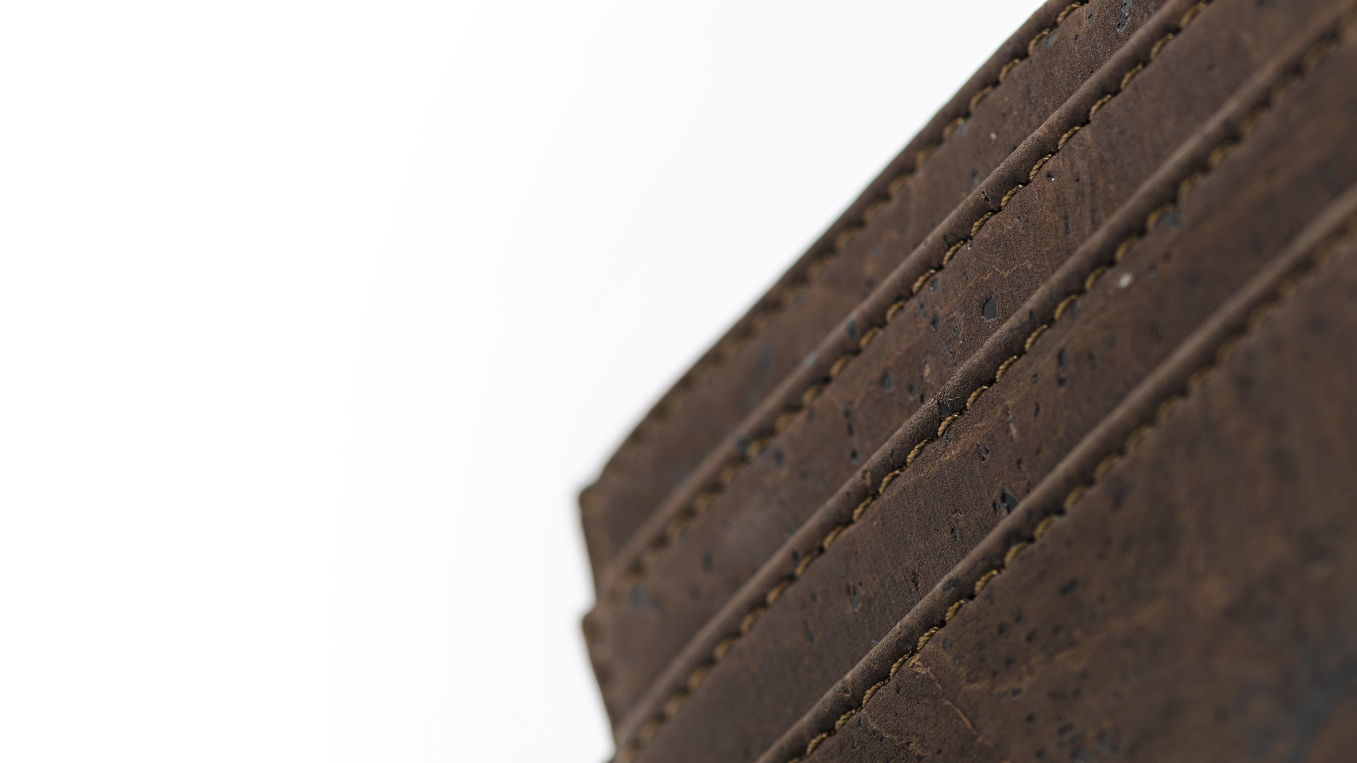 Korkportemonnaie, Kork Portemonnaie Card Holder, Brown, editorial