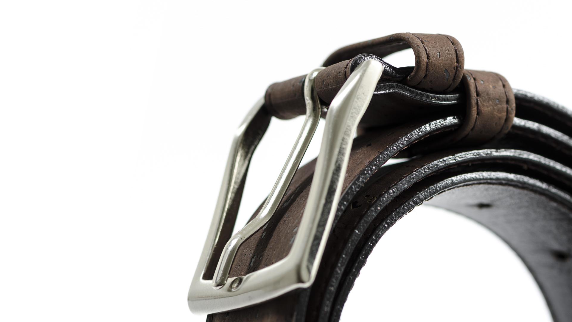 Korkgürtel, Kork Gürtel Drift 35mm, Brown, editorial