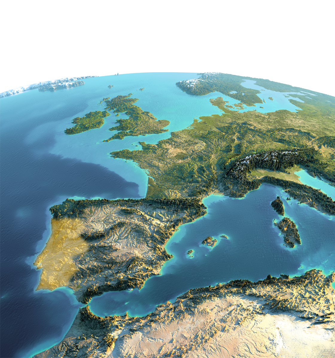 Vorkommen der Korkeiche, von Kork in Europa / Portugal