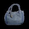 Korktasche, Kork Tasche City Bag, Blue Dark \ Blue, front