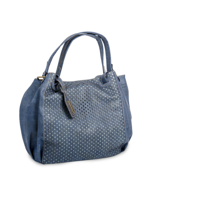 Korktasche, Kork Tasche City Bag, Blue Dark \ Blue, teaser