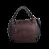 Korktasche, Kork Tasche City Bag, Black \ Red, front