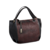 Korktasche, Kork Tasche City Bag, Black \ Red, front, side