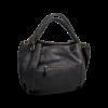 Korktasche, Kork Tasche City Bag, Black \ Red, back