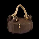 Korktasche, Kork Tasche City Bag, Brown \ Nature Cork, back
