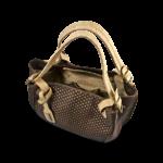 Korktasche, Kork Tasche City Bag, Brown \ Nature Cork, open