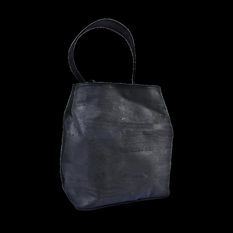 Korktasche, Kork Tasche Companion, Black, back