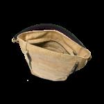 Korktasche, Kork Tasche Zipper, Nature Cork \ Black, open