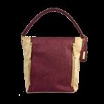Korktasche, Kork Tasche Zipper, Red Wine \ Nature Cork, front