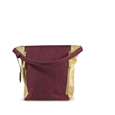 Korktasche, Kork Tasche Zipper, Red Wine \ Nature Cork, teaser