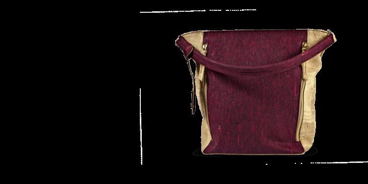 Korktasche, Kork Tasche Zipper, Red Wine \ Nature Cork, teaser