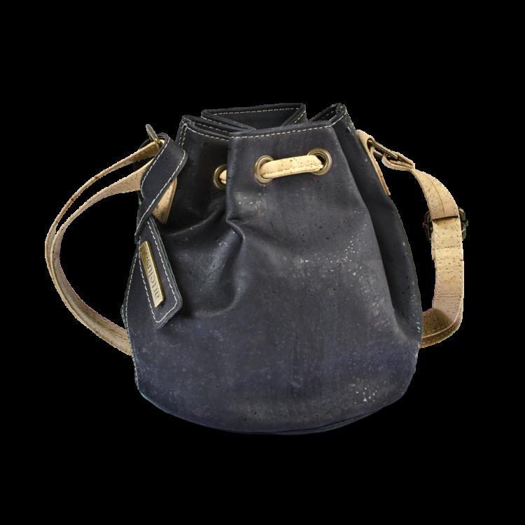 Korktasche, Kork Tasche Mini Bag, Black, back