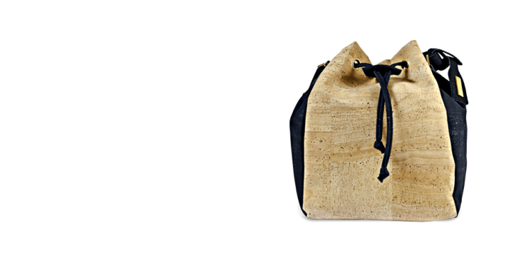 Korktasche, Kork Tasche Chester, Nature Cork \ Black, teaser