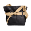 Korktasche, Kork Tasche Looper, Black \ Nature Cork, front
