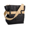 Korktasche, Kork Tasche Looper, Black \ Nature Cork, back
