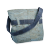 Korktasche, Kork Tasche Looper, Blue Dark \ Blue, back