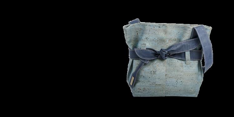 Korktasche, Kork Tasche Looper, Blue Dark \ Blue, teaser