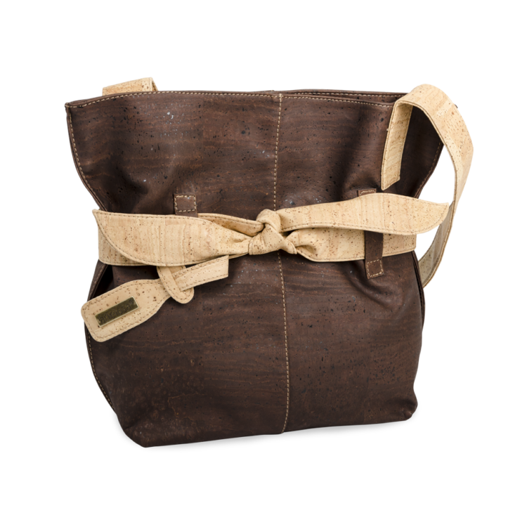 Korktasche, Kork Tasche Looper, Brown \ Nature Cork, side