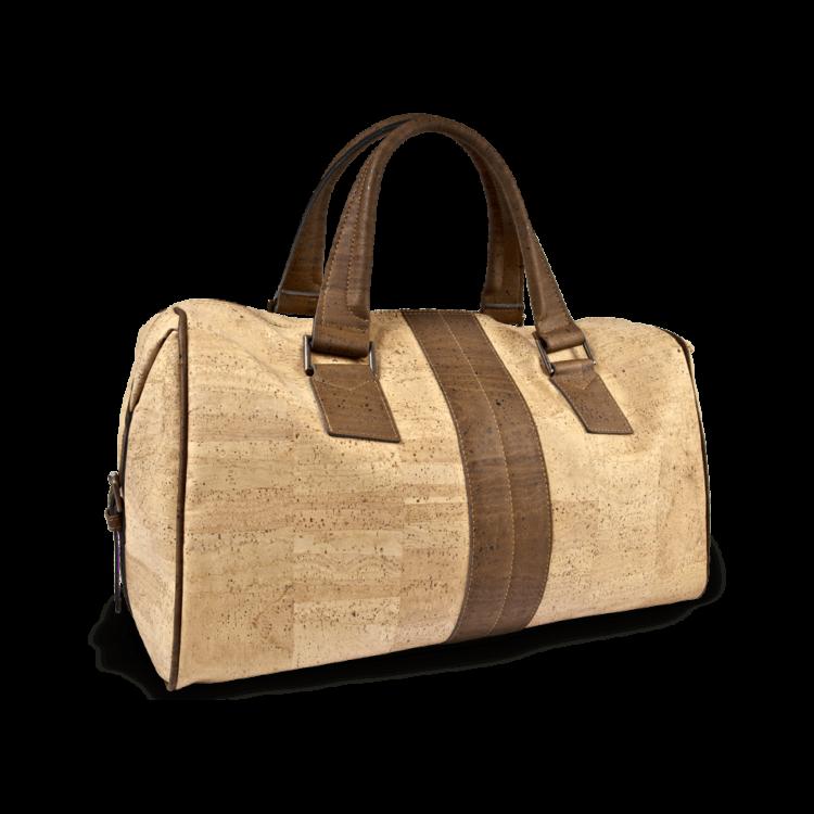 Korktasche, Kork Tasche Traveller, Nature Cork / Brown, back