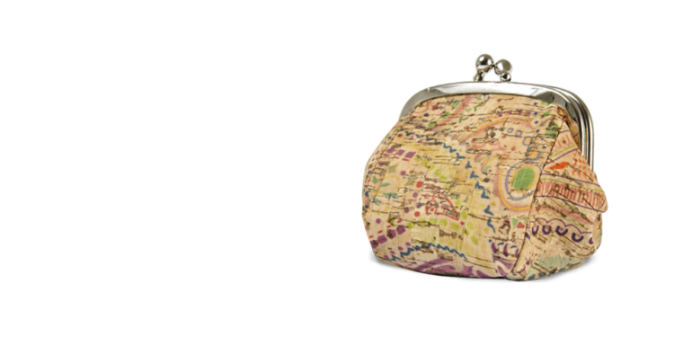 Korkportemonnaies, Kork Portemonnaies Granny's Pocket, Colored, teaser