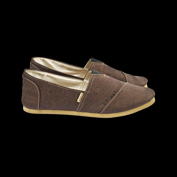 Schuhe, Kork, Korkschuhe, Espadrillas, Brown \ Beige, other side