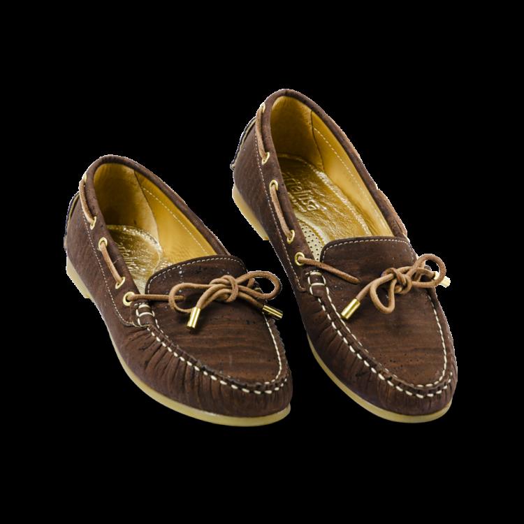 Schuhe, Kork, Korkschuhe, Espadrillas, Indiana Laced, Brown, plan view