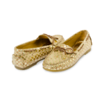 Schuhe, Kork, Korkschuhe, Espadrillas, Indiana Laced, Nature Cork \ Gold, back and front side