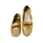 Schuhe, Kork, Korkschuhe, Espadrillas, Indiana Laced, Nature Cork \ Gold, front