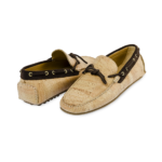Schuhe, Kork, Korkschuhe, Espadrillas, Seaman Laced, Nature Cork \ Brown, back and front side