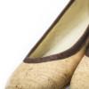Schuhe, Kork, Korkschuhe Ballerinas, Nature Cork \ Brown, editorial