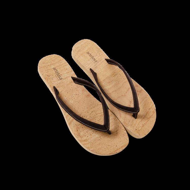 Flip Flops Kaufen : kork flip flops in beige braun korkschuhe online kaufen ~ Watch28wear.com Haus und Dekorationen