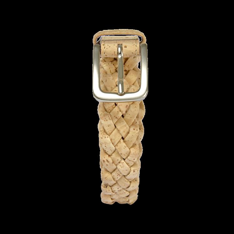 Korkgürtel, Kork Gürtel Brady 30mm, Nature Cork, front