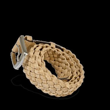 Korkgürtel, Kork Gürtel Brady 40mm, Nature Cork, teaser