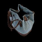 Korktasche, Kork Tasche Lacer, Blue \ Brown, open