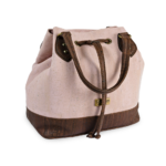 Korktasche, Kork Tasche Lacer, Dusty Pink \ Brown, side