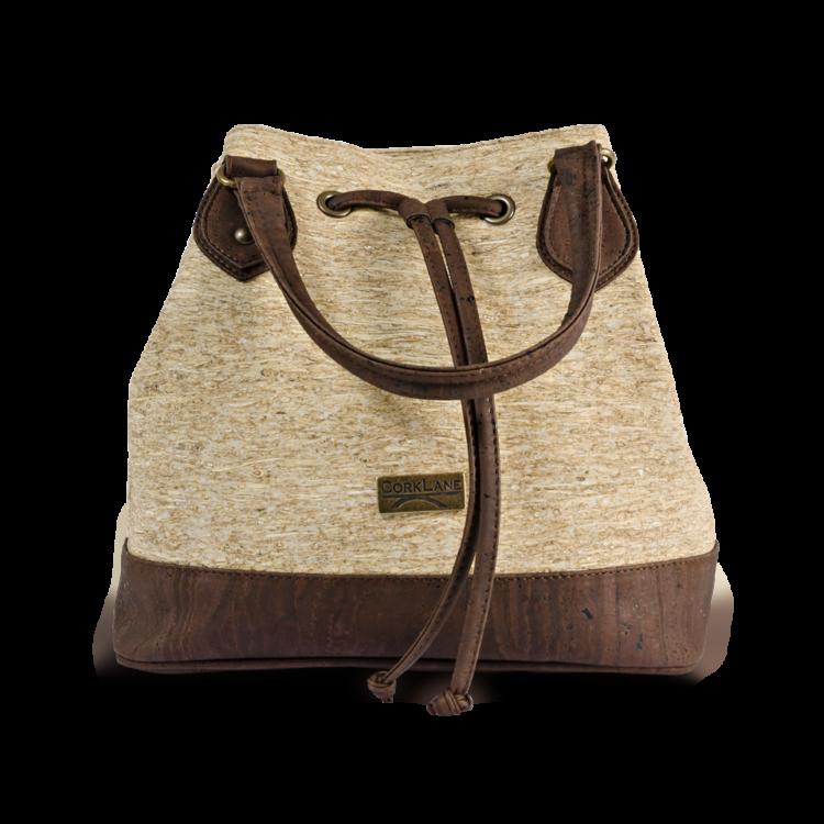 Korktasche, Kork Tasche Lacer, Straw Nature \ Brown, front