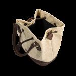 Korktasche, Kork Tasche Lacer, Straw Nature \ Brown, open