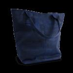 Korktasche, Kork Tasche Tassel, Blue Dark \ Nature Cork, back