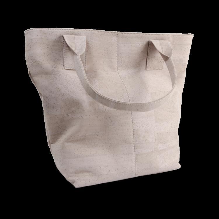 Korktasche, Kork Tasche Tassel, Nature Cork \ Dusty Pink, back