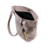 Korktasche, Kork Tasche Tassel, Nature Cork \ Dusty Pink, open