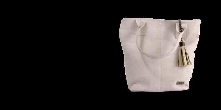 Korktasche, Kork Tasche Tassel, Nature Cork \ Dusty Pink, teaser