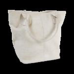 Korktasche, Kork Tasche Tassel, White \ Dusty Pink, back