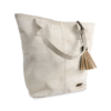 Korktasche, Kork Tasche Tassel, White \ Nature Cork, side