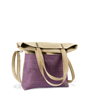 Korktasche, Kork Tasche Shopper, Nature Cork \ Dusty Pink, teaser